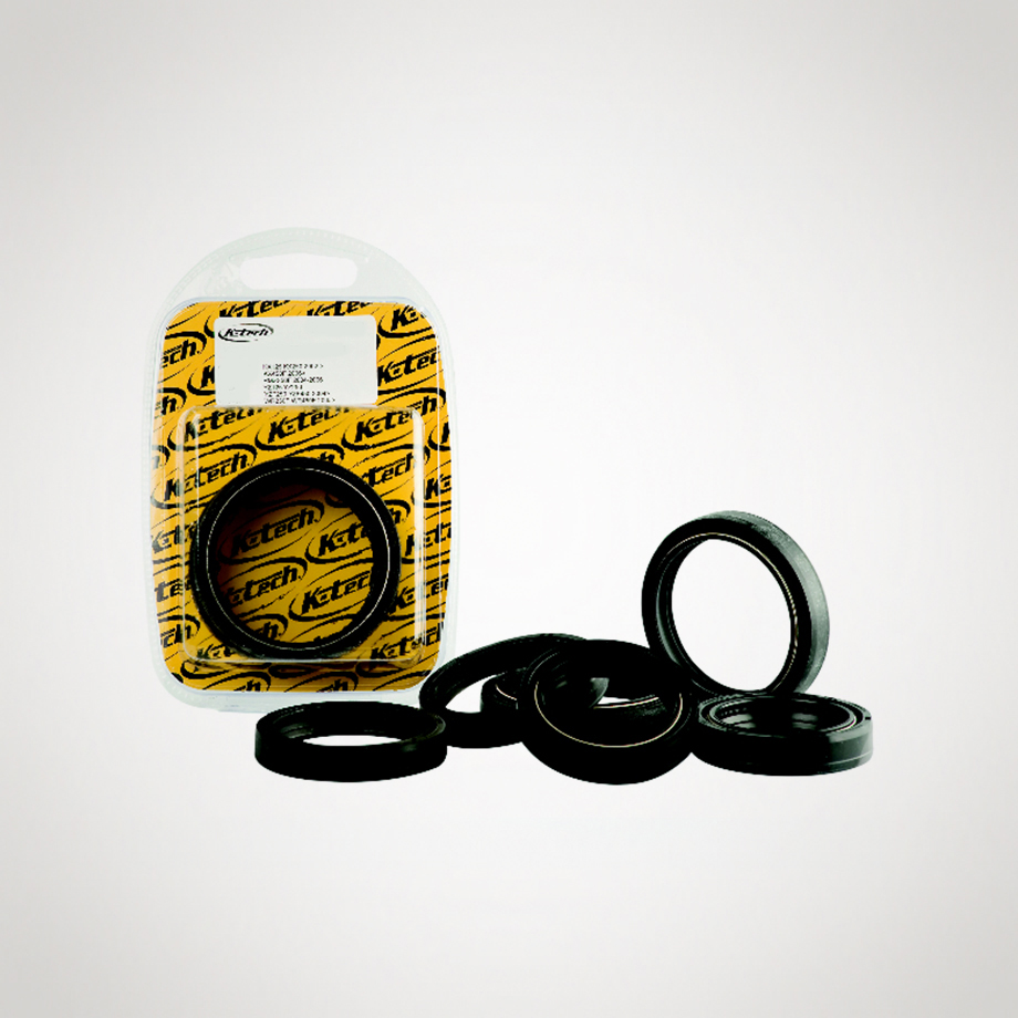 K-Tech Suzuki RM125 2001-2009 NOK Front Fork Oil Seals 47x58x10mm