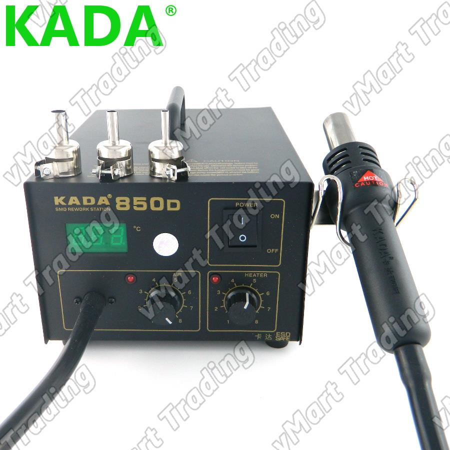 KADA 850D Diaphragm Pump Digital Hot Air Rework Station
