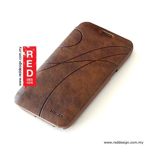 KALAIDENG OSCAR 2 Series Cover Case for Galaxy Note 2 Brown
