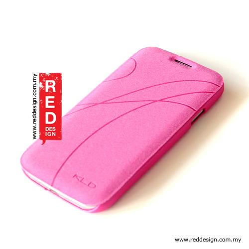 Kalaideng Oscar Series Book Flip Case for Galaxy S4 - Pink