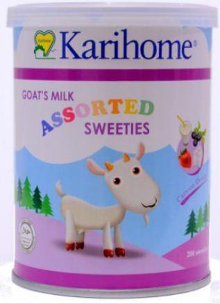 KARIHOME GOAT´S MILK ASSORTED SWEETIES 200´S