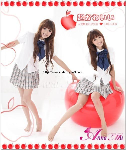 Kawaii Role-playing Models Nightwear Lingerie Three-piece Student 3653