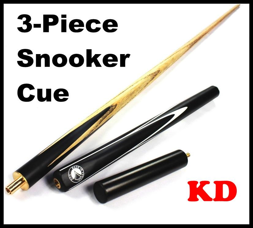 KD Snooker Cue Billiard 2-piece 145cm + Rest Extension 16cm
