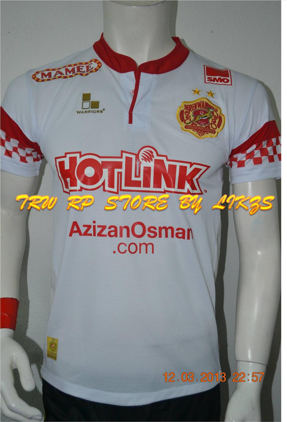 KELANTAN NEW away KIT 2013-  PLAYER VERSION- ORIGINAL-