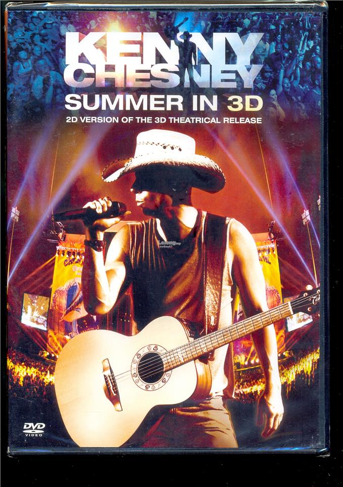 Kenny Chesney - Summer In 3D - New Live DVD