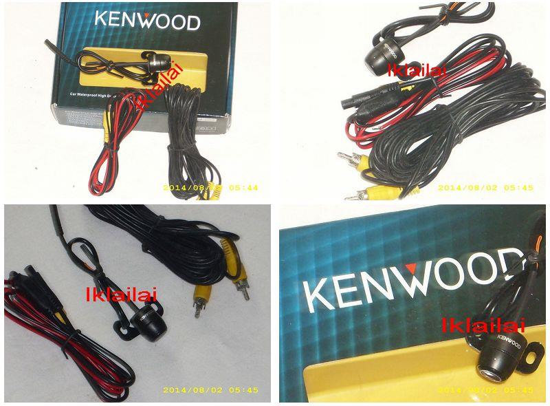 Kenwood Design High Resolution Reverse Camera With Warning Line [Super