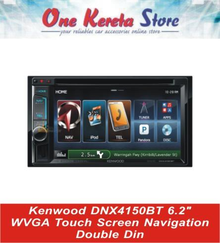 Kenwood DNX4150Bt 6.2' WVGA Touch Screen Double Din Original