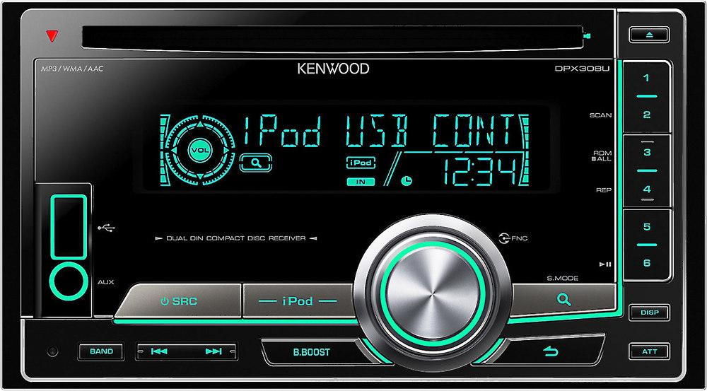 kenwood double din receiver car audio systems. Black Bedroom Furniture Sets. Home Design Ideas