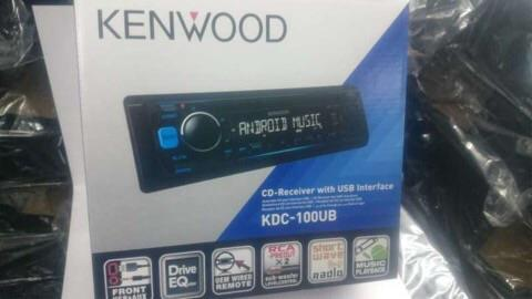 Kenwood KDC-100UB cd MP3 USB car CD player ( new model )