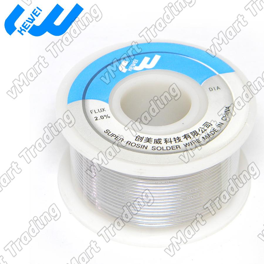 KEWEI Sn63Pb37 Flux Core Solder Wire 0.6mm 100g