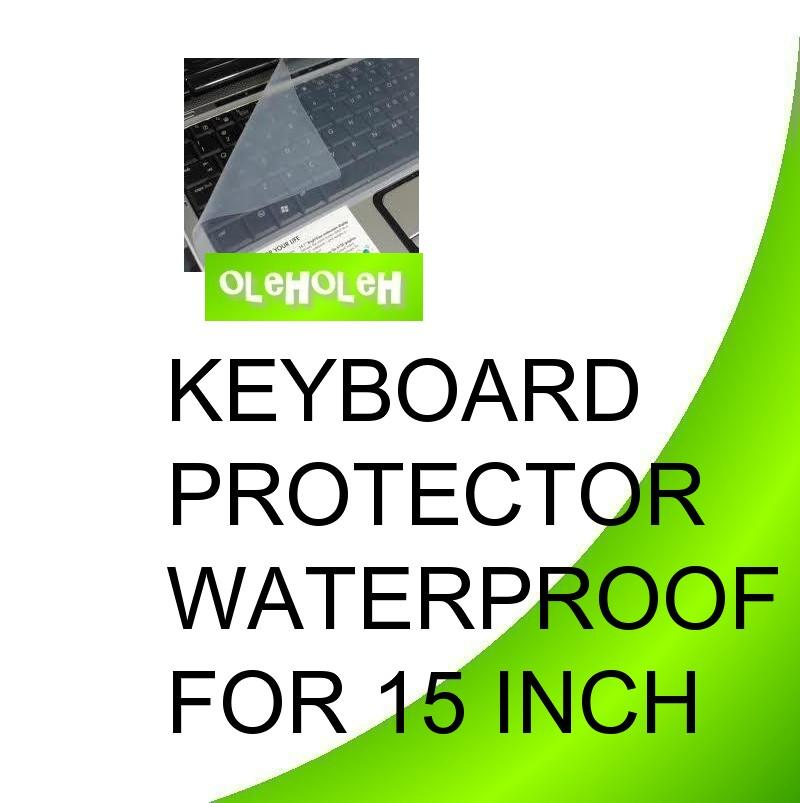 Keyboard Protector Waterproof 15'