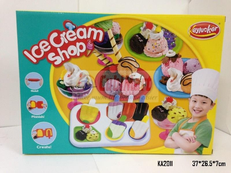 Keylucker PlaySet Ice Cream Shop