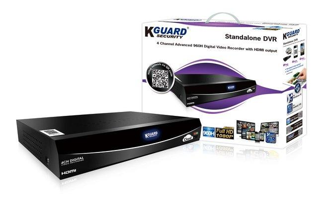 KGUARD 4 CHANNEL CCTV DVR (EL422)