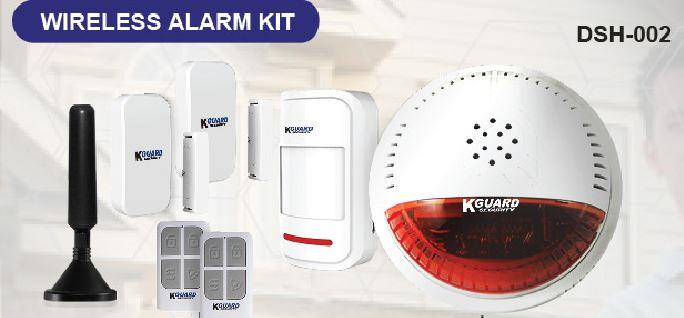 KGUARD wireless alarm kit (DSH-002)