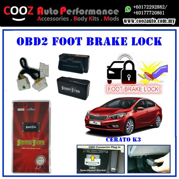 Kia Cerato K3 2014 Smart Star OBD Foot Brake With Y Socket