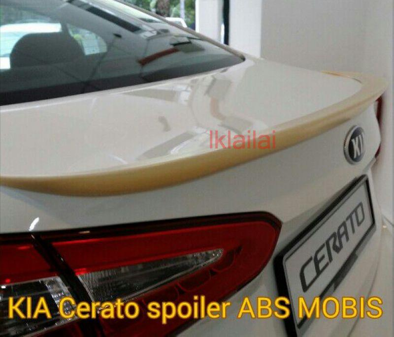 Kia Cerato Mobis Style Spoiler ABS Material Painted