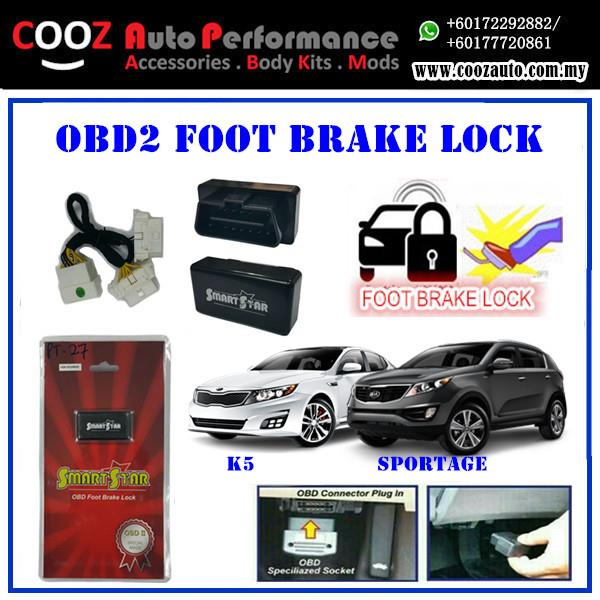Kia K5 2015 Smart Star OBD Foot Brake With Y Socket