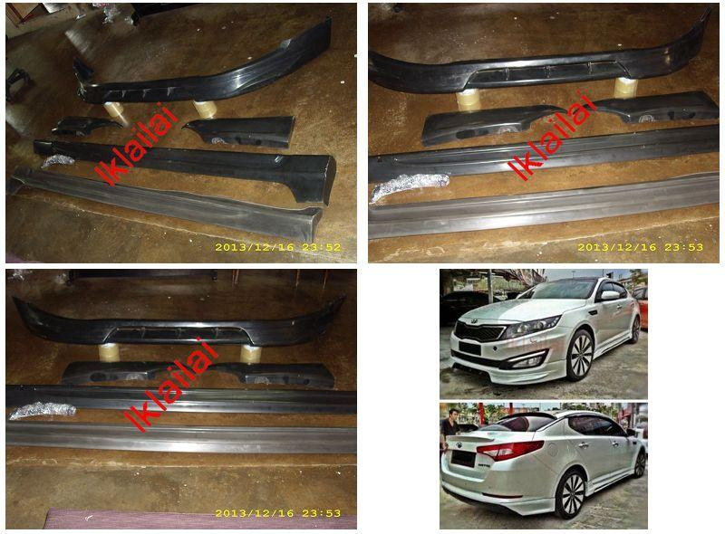 Kia Optima K5 Mobis Full Set Body Kit [PPU Material]