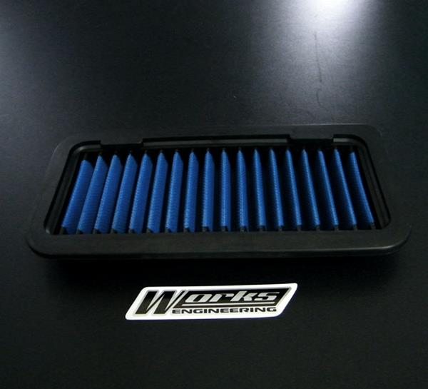 KIA PICANTO 1.0/ 1.1 2004 - 2009 WORKS ENGINEERING Drop In Air Filter