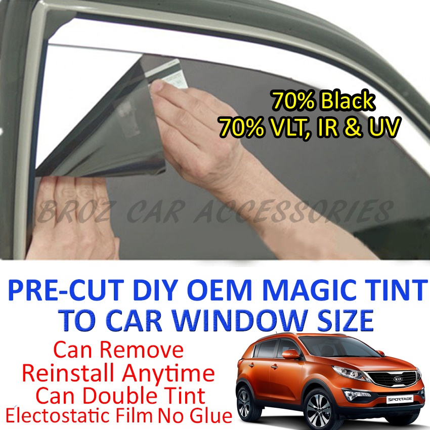 Kia Sportage New Magic Tinted Solar Window (4 Window & Rear) 70% Black