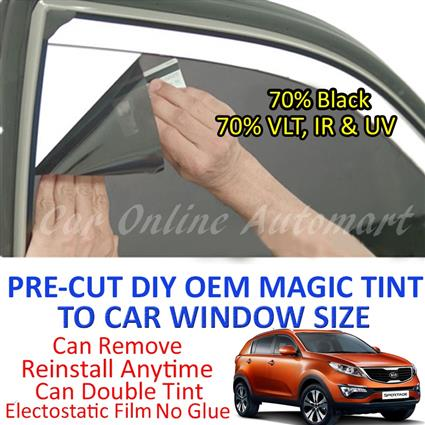 Kia Sportage New Magic Tinted Solar Window ( 4 Windows ) 70% Black