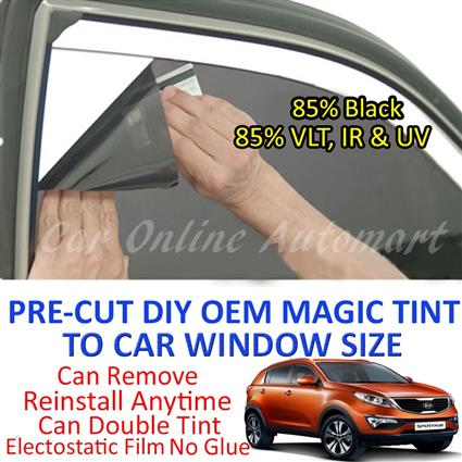 Kia Sportage New Magic Tinted Solar Window ( 4 Windows ) 85% Black