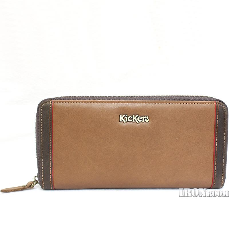 KicKers Leather Zip-around Long Wallet IC82796