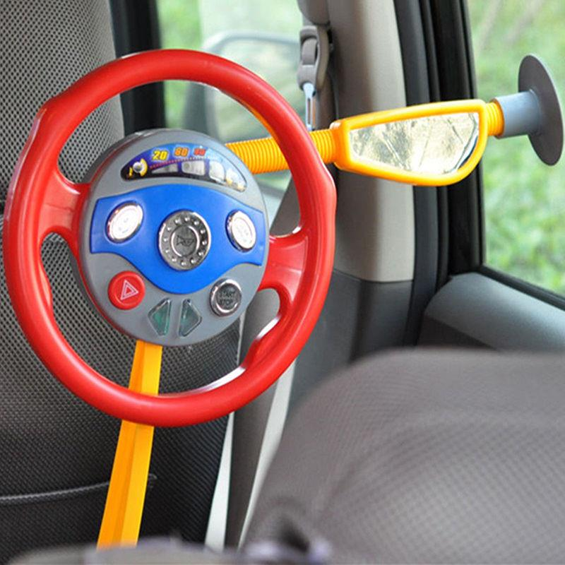 New Kids Electronic Backseat Drive Toys