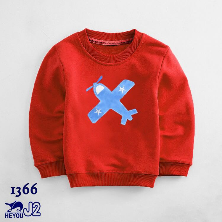 Kids Sweat Shirt Sweater Pullover for Ages 2 Yrs to 7 Yrs