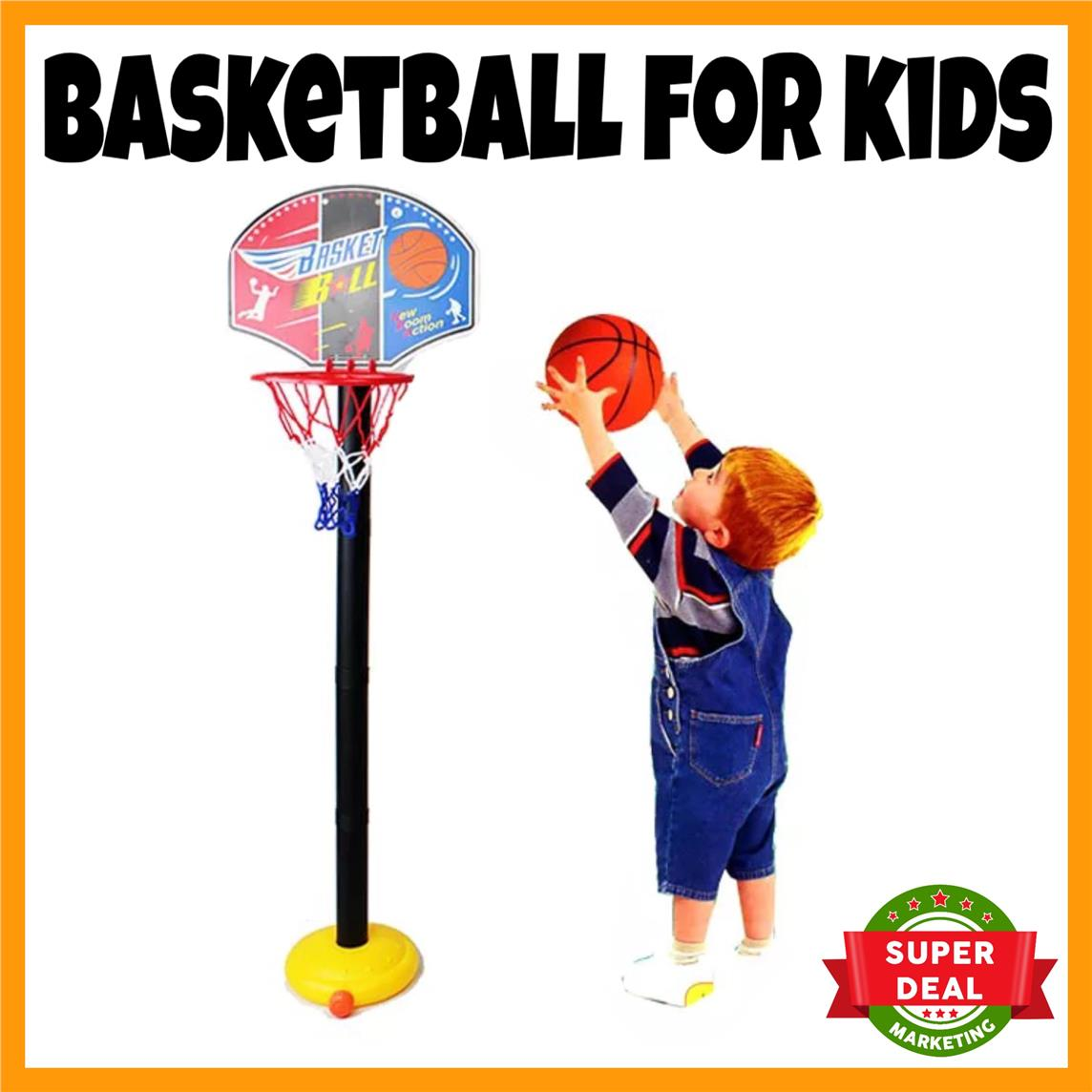 Kids Toy Basketball Home Play Basketball for Kids Sports FREE AIR PUMP