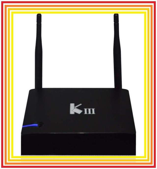 KIII android 5.1 TV box S905 2G Ram 16 GB Rom 4 USB LAN better mibox