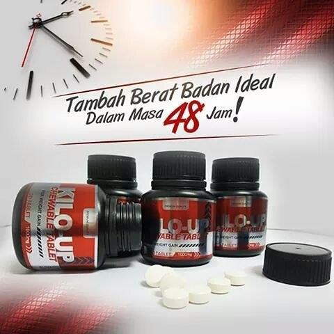 Kilo Up Weight Gainer Chewable Tablet  Vitamin B Penaik Berat Badan