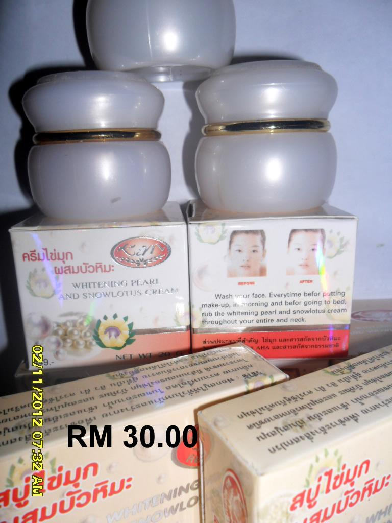 KIM WHITENING PEARL AND SNOWLOTUS CREAM