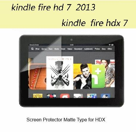 Kindle Fire HDX 7 inch Matte Screen Protector