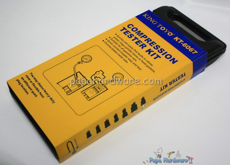 King Toyo Compression Tester Kit KT-6067