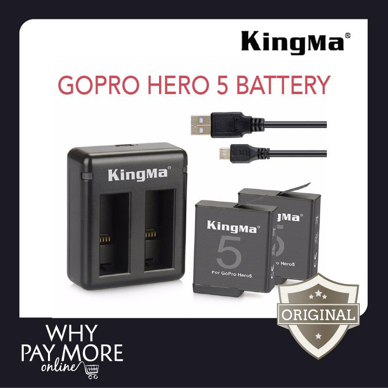Kingma Gopro Hero 5 Dual Charger Bat End 6 26 2018 3 18 Pm