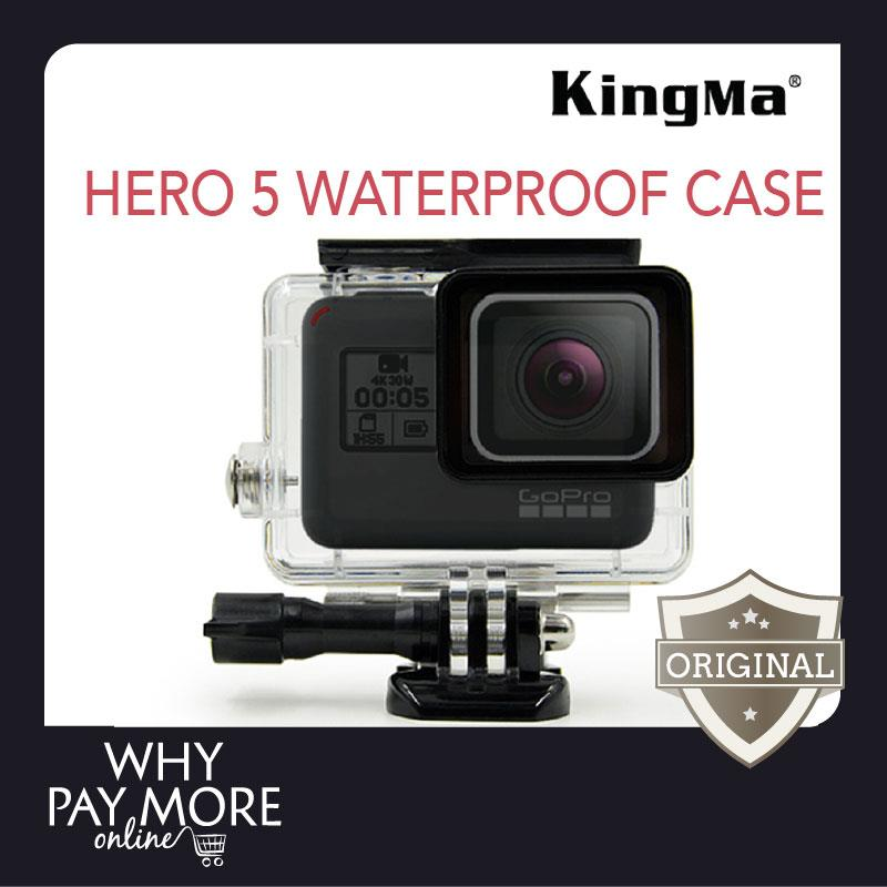 Kingma GoPro HERO 5 Waterproof Case Underwater Diving Casing Cover