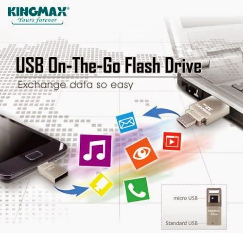 Kingmax PJ-02 8GB OTG USB Flash Drive