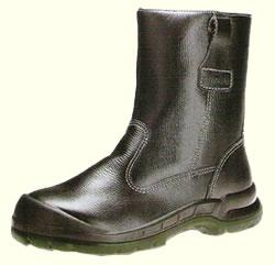 Kings Safety Shoes Men High Cut Black KWD 805