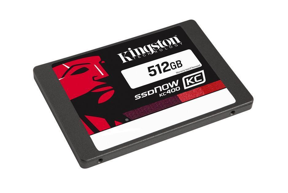 KINGSTON 2.5� SSDNOW KC400 512GB SOLID STATE DRIVE