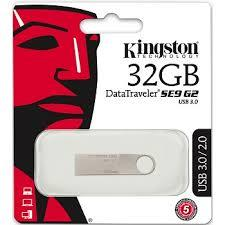 KINGSTON 32GB DATA TRAVELER SE9 G2 USB3.0 FLASH DRIVE (DTSE9G2/32GB)