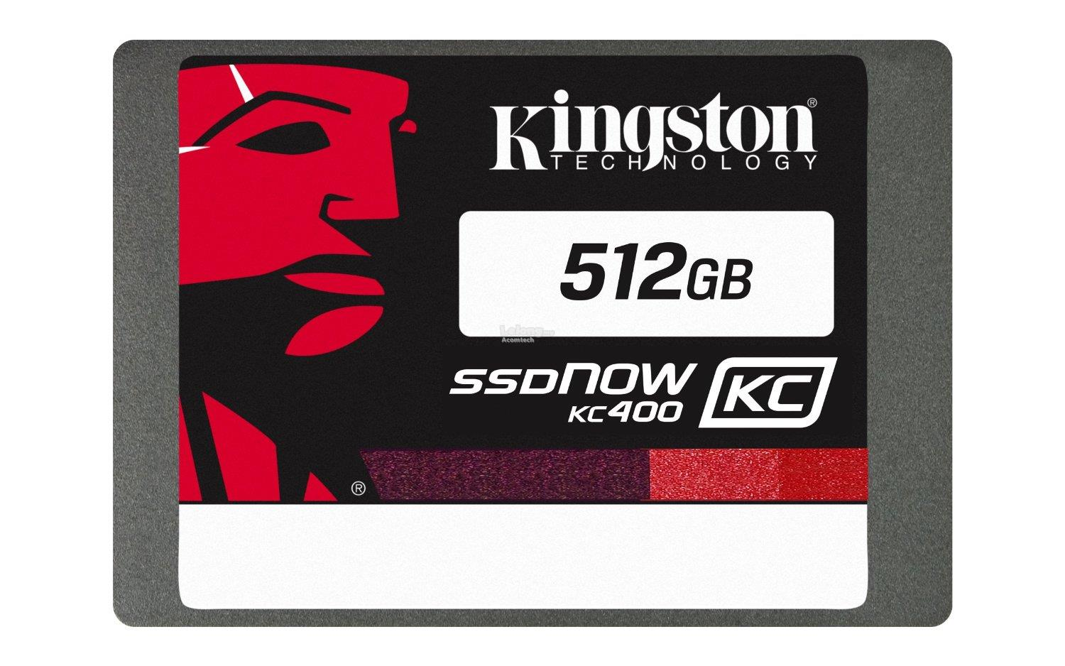 "Kingston 512GB KC400 SSD C2C 2.5"" Solid State Drive SKC400S37/512G"
