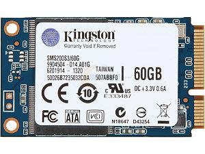 KINGSTON 60GB MSATA SSD (SMS200S3/60G)