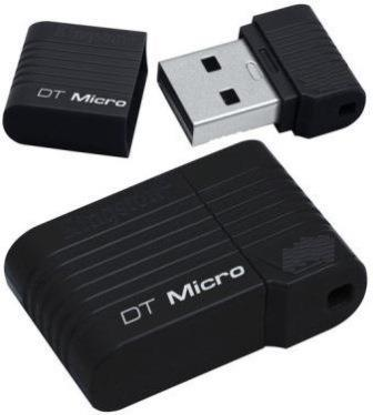 KINGSTON DATATRAVELER MICRO 32GB USB2.0 FLASH THUMBDRIVE