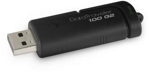 KINGSTON FLASH DRIVE DT 100 G2 32GB BLK
