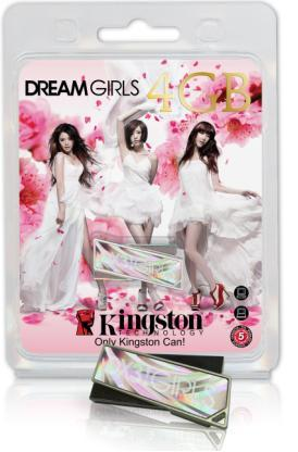 KINGSTON FLASH DRIVE DT DREAM GIRLS 4GB