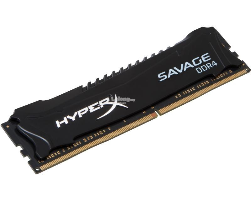 Kingston HyperX Savage Black 4GB 2800MHz DDR4 CL14 HX428C14SB2/4
