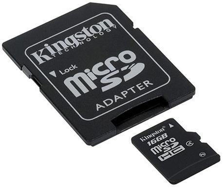 KINGSTON Micro SD HC (TF) 16GB Memory Card NOKIA GALAXY HTC BLACKBERRY
