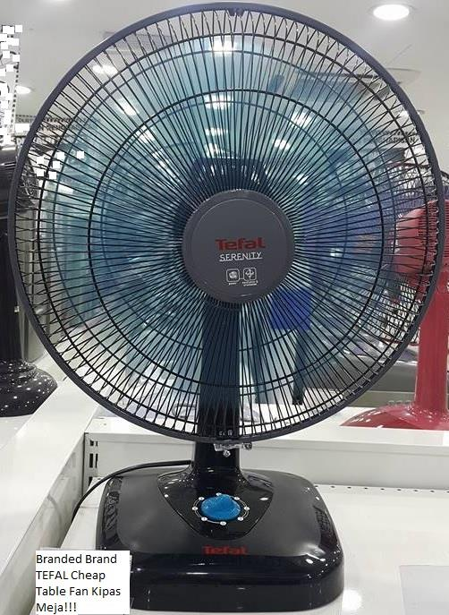 Kipas Berdiri Standing Fan Stand Fan Kipas Meja Fan Table Fan Tefal