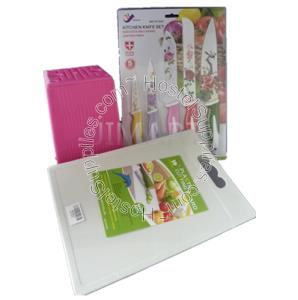 Kitchen knife set with holder free end 11 19 2017 4 15 pm for Kitchen knife set of 7pcs with cutting board